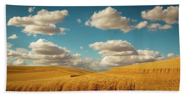 Grains Of Palouse Beach Towel
