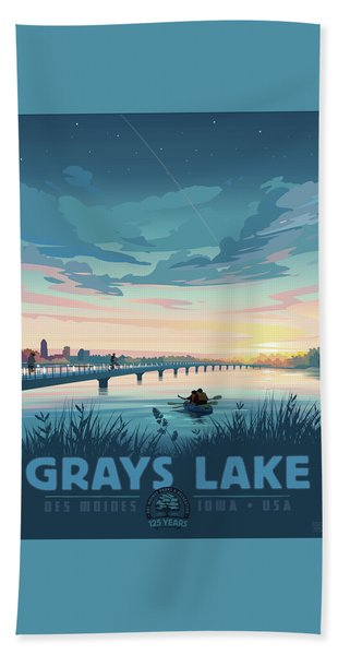 Grays Lake Beach Towel