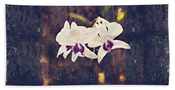 Hawaiian Tree Orchid Beach Towel