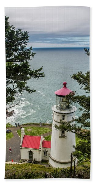 Heceta Head Lighthouse Beach Towel