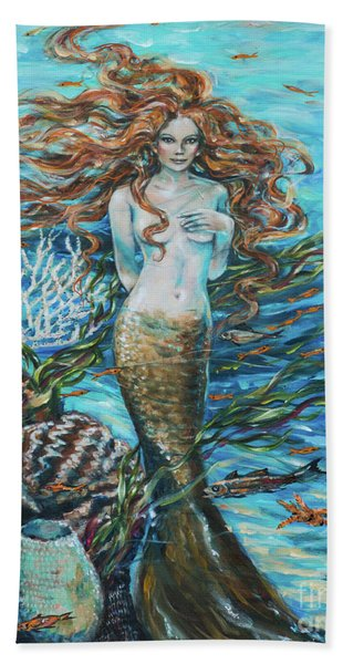 Highland Mermaid Beach Towel