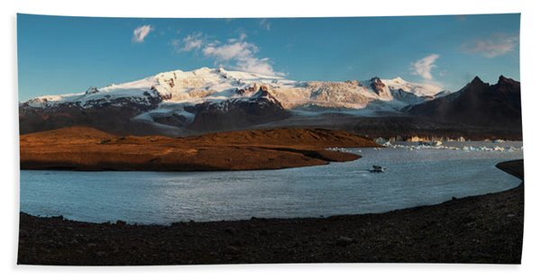 Iceland Panorama Beach Towel