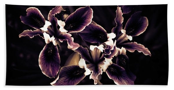 Irresistible Iris Beach Towel
