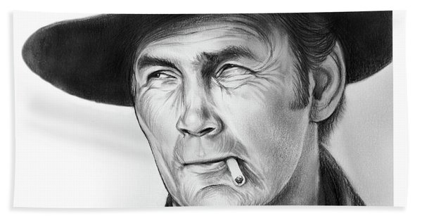 Jack Palance Beach Towel