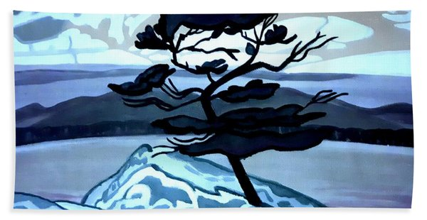 Jack Pine Beach Towel