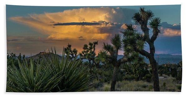 Joshua Tree Thunder Beach Towel