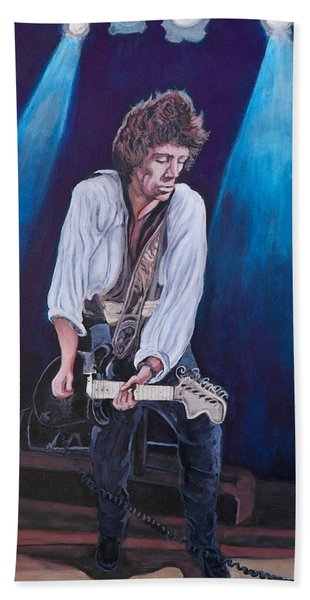 Keith Richards Beach Towel