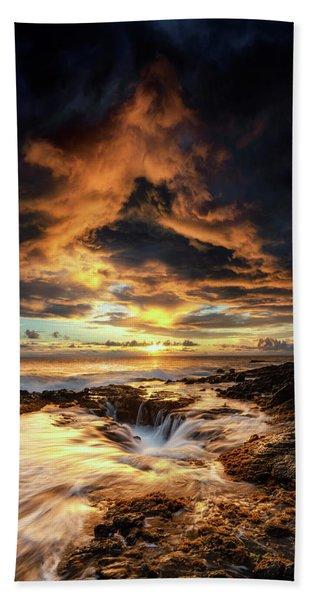 Kona Sunset Beach Towel