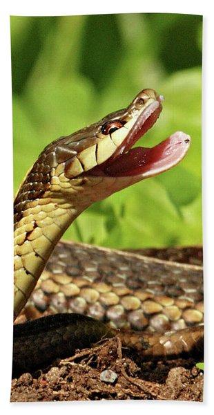 Laughing Snake Beach Towel