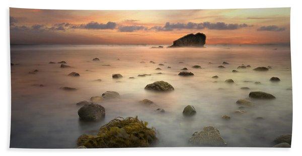 Malibu Sunset Beach Towel