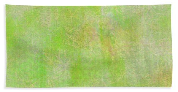 Lime Batik Print Beach Sheet