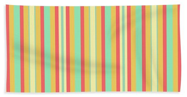 Lines Or Stripes Vintage Or Retro Color Background - Dde589 Beach Sheet