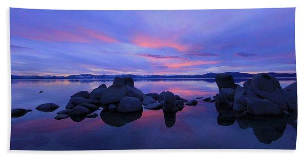 Beach Towel featuring the photograph Liquid Serenity  by Sean Sarsfield