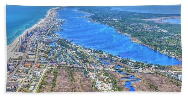 Little Lagoon 7489 Beach Towel