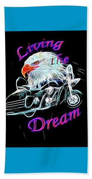Living The Dream Shine Beach Towel