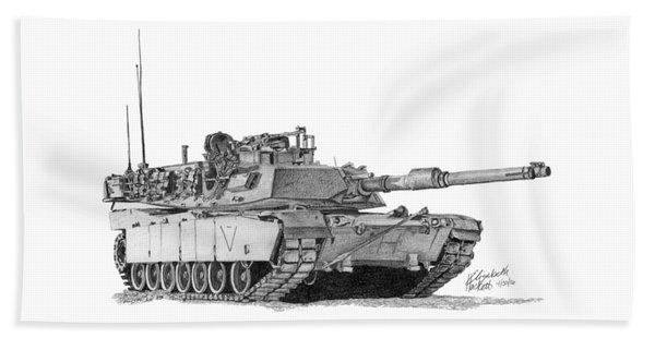 M1a1 C Company 1st Platoon Commander Beach Towel