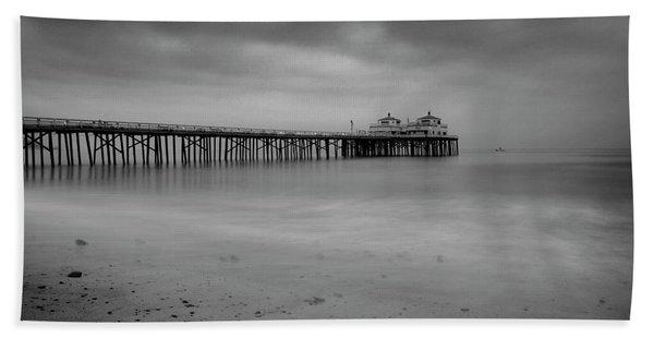 Malibu Pier Beach Towel