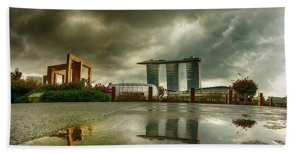 Marina Bay Sands Hotel Beach Towel