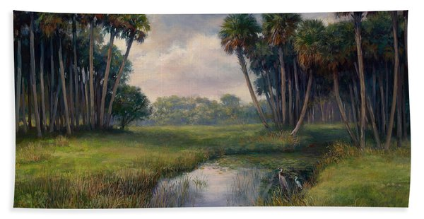 Martin County Highway Beach Towel