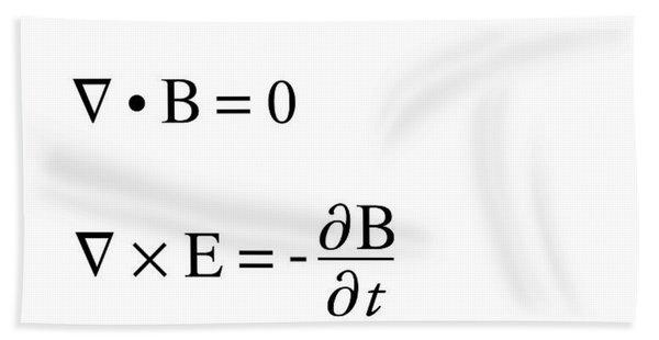 Maxwell's Equations Beach Towel