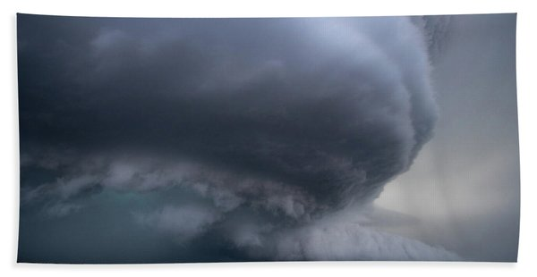 Mesocyclone Beach Towel