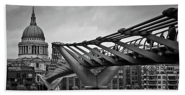 Millennium Bridge 01 Beach Towel