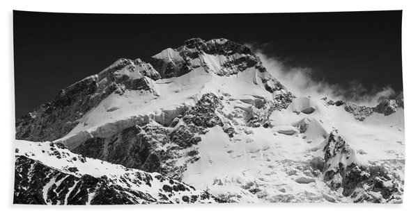 Monochrome Mount Sefton Beach Towel