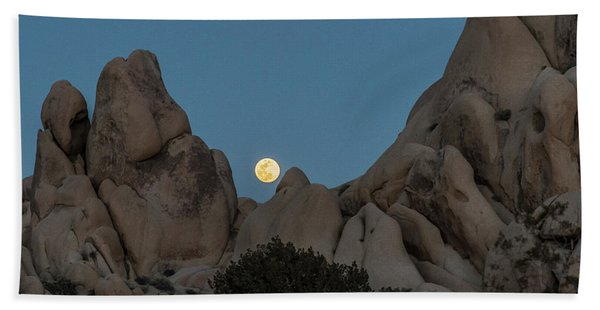 Moonrise In The Sight Beach Towel