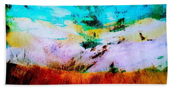 Morning Meadow Beach Towel