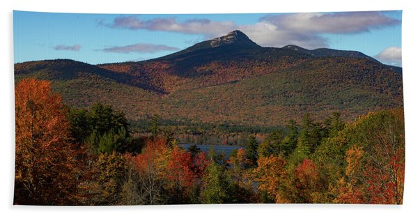 Beach Towel featuring the photograph Mount Chocorua New Hampshire by Jeff Folger