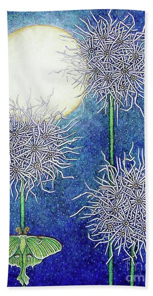Night Garden 2 Beach Towel