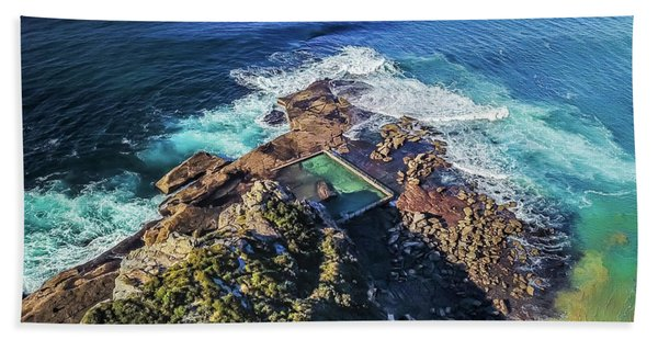 North Curl Curl Headland Beach Towel