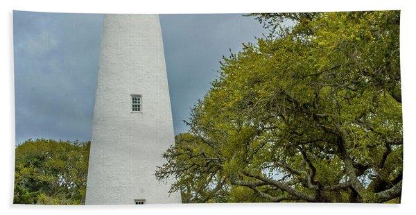 Ocracoke Lighthouse No 2 Beach Towel