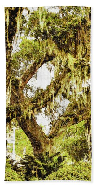 Old Mossy Oaks Beach Towel