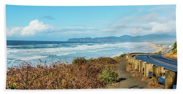 Oregon Surf Beach Towel