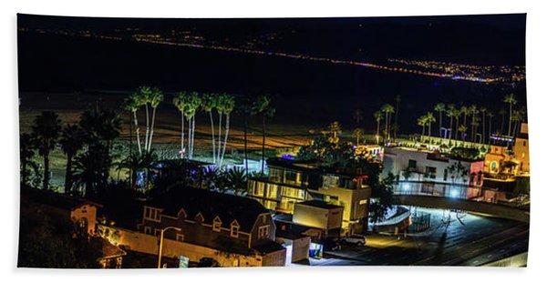 Palisades Park Night - Panorama Beach Sheet