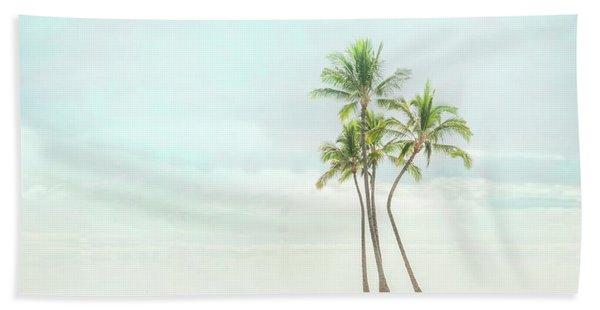 Palm Tree Cluster  Beach Towel