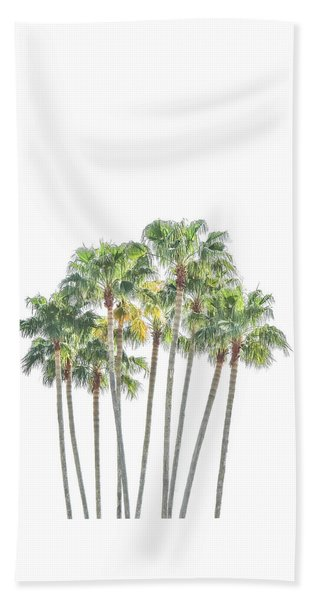 Palm Tree Grove Beach Sheet