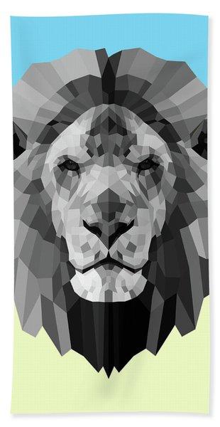 Party Lion Beach Towel