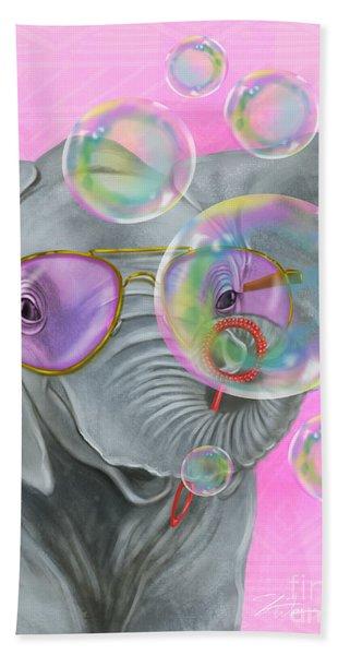 Party Safari Elephant Beach Sheet