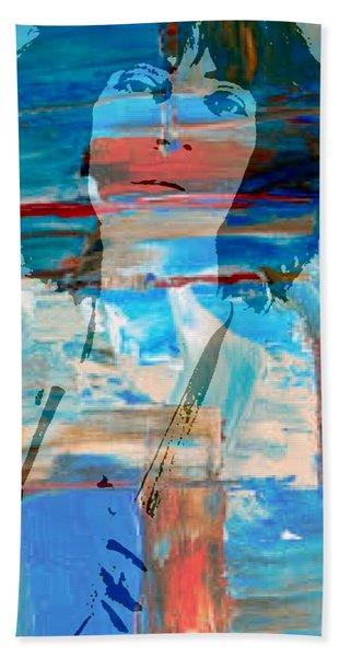 Patti Smith Beach Towel