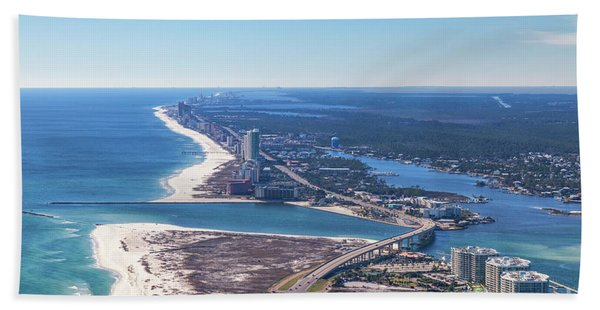Perdido Pass Bridge Beach Towel