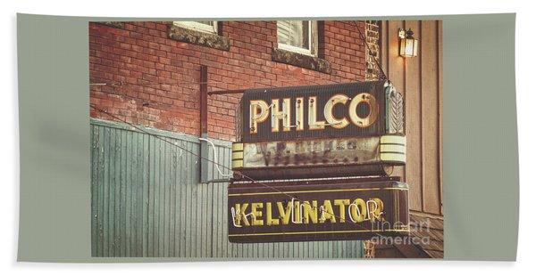 Philco - Kelvinator  Beach Sheet