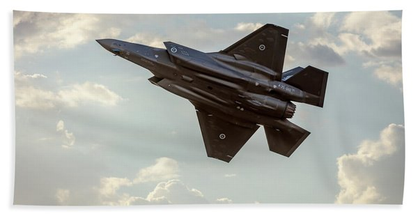 Raaf F-35a Lightning II Joint Strike Fighter Beach Towel