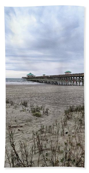 Rainy Beach Day Beach Towel