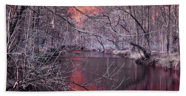 Red Creek Beach Towel