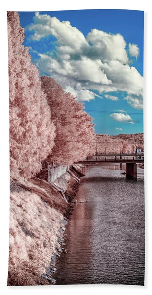 River Walk Beach Towel