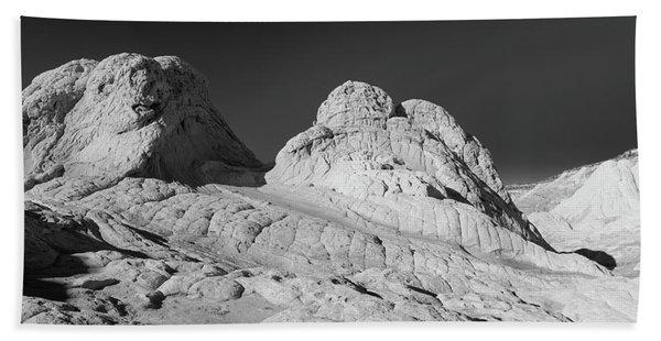 Rock Detail At White Pocket, Paria Beach Towel