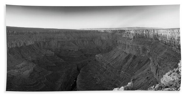 Rock Formations On The Edge Beach Towel