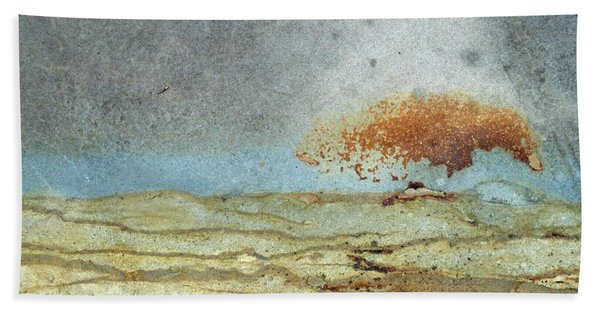Rock Stain Abstract 1 Beach Towel
